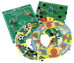 All-Turn-It - Soccer and Basketball Game Set