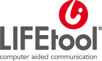 Logo LIFEtool - computer aided communication